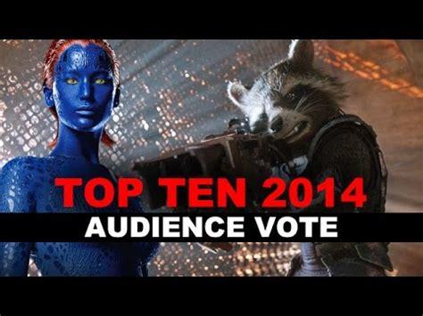 best voted shoo 2014 top ten movies of 2014 audience vote beyond the