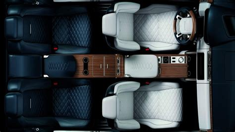 range rover concept interior range rover two door sv coup 233 interior revealed ahead of