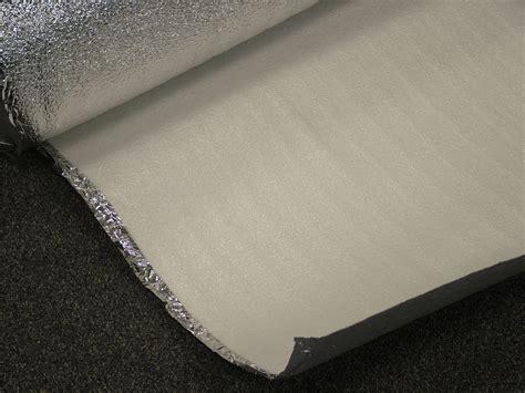 Interior Door Insulation with Auto Car Door Panel Interior Insulation 63 Roll Mylar Back Foam Weather Barrier