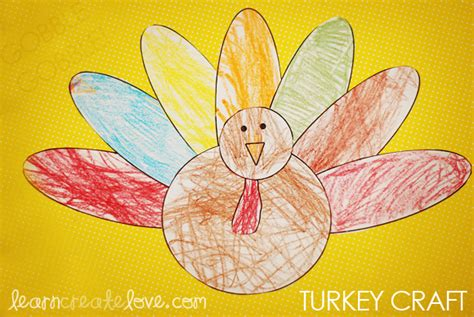 printable turkey paper craft gallery turkey body craft template