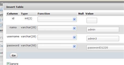 membuat form login dengan php dreamweaver cara membuat form login pada localhost dengan php