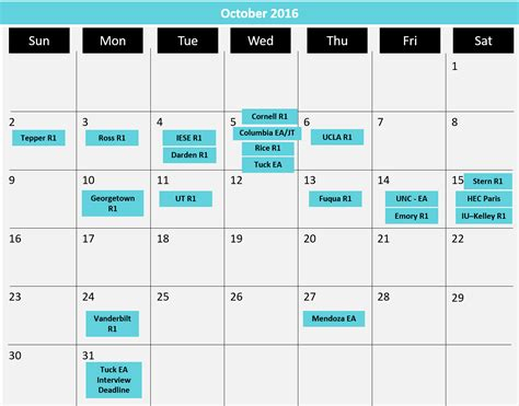 Lbs Mba Calendar by Updated Mba Application Deadlines Calendar 1