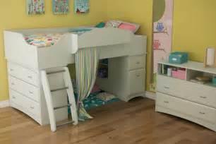 Loft Bed By White South Shore Imagine White Loft Bed 3560a3