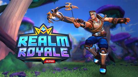 la beta abierta de realm royale el battle royale de
