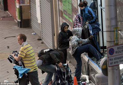 uk riots 2011 child looters aged 11 and 12 let off with slap on the wrist daily mail online