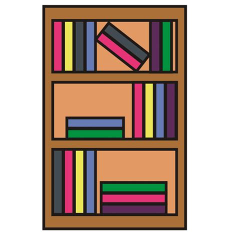 Bookcase Clipart Best Bookshelf Clipart 14990 Clipartion Com
