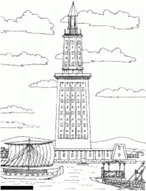 coloring pages of lighthouse of alexandria egypt hieroglyphs coloring pages for adults justcolor
