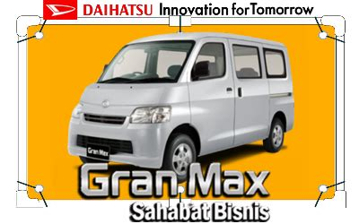Dealer Mobil Daihatsu Sawah Besar spesifikasi lengkap daihatsu granmax harga daihatsu