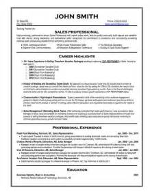 Free Resume Sles For It Professionals 17 Best Ideas About Professional Resume Template On Resume Templates Resume And