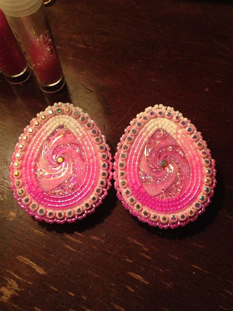 beadwork pink 759 best beading images on beaded earrings