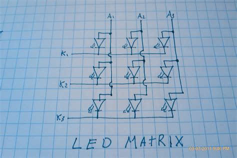 Led Matrix led matrix and arduino basbrun
