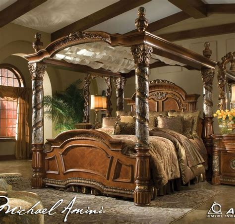 King Size Canopy Bed King Size Canopy Bed My Bed No Pun Intended For My Home Pinterest Canopy Bed