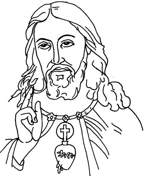 imagenes sagrado corazon de jesus para colorear desenho de sagrado cora 231 227 o de jesus para colorir