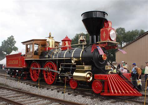 old steam train engine