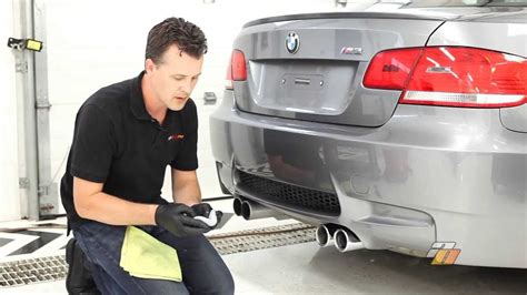 how to clean exhaust tips cleaning and polishing car
