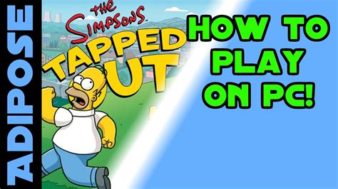 Out On The by How To Play Simpsons Tapped Out On Your Pc