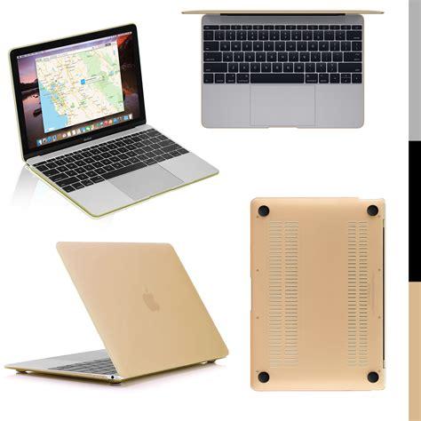 apple macbook igadgitz slim pc hard case for new apple macbook 12 quot a1534