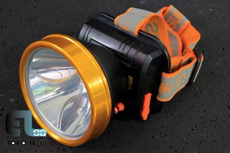 Senter Kepala 15w Sinar Kuning Sunpro Sl8809 jual beli senter kepala 15w sinar kuning sunpro sl8809