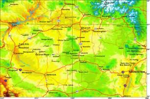 elevation map colorado navajo land use planning project nlupp