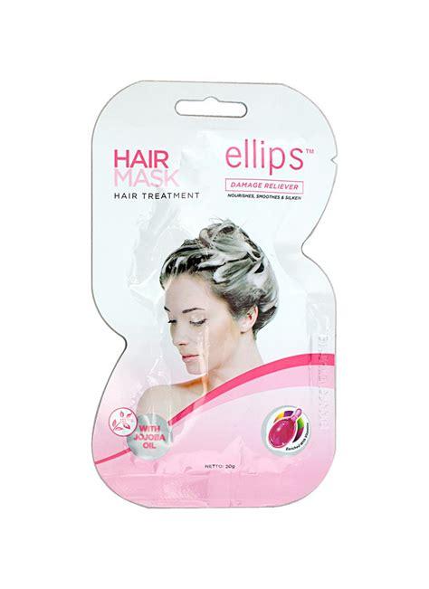 Masker Rambut Saset ellips hair mask hair treatment pck 20g klikindomaret