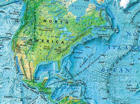 american bodies of water map america national geographic society