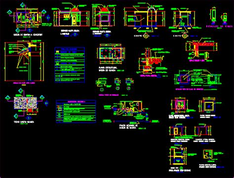 house  monitoring dwg detail  autocad designs cad
