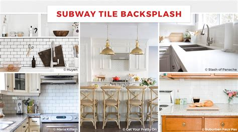 marble subway tile kitchen backsplash 55 best kitchen backsplash ideas for 2018