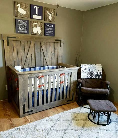 best 25 rustic crib ideas on rustic nursery