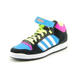 adidas decade mid womens size 8 multi colored leather
