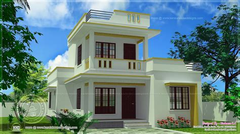 simple contemporary home design kerala home design roof home design feet kerala plans simple modern house