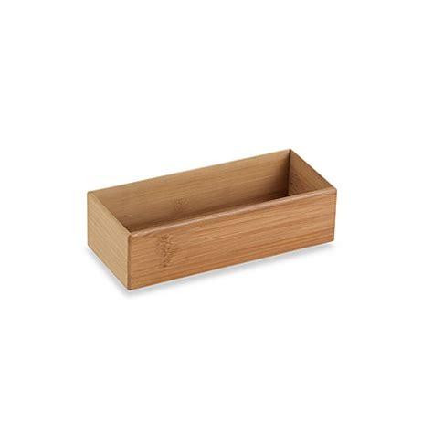 9 inch organizer buy bamboo 3 inch x 9 inch organizer from bed bath