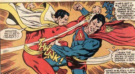 superman vs captain marvel shazam conociendo a shazam captain marvel combogamer
