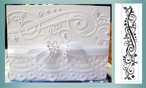 78 Best Images About Darice Embossing Folder Card Designs On Pinterest Snowflakes Merry Darice Bridal Templates