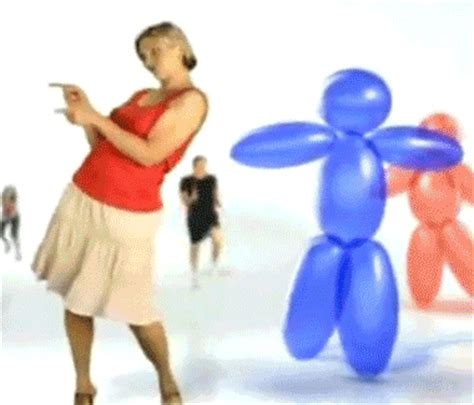 Balloon dancing gif find amp share on giphy