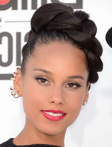 25 updo hairstyles for black part 9