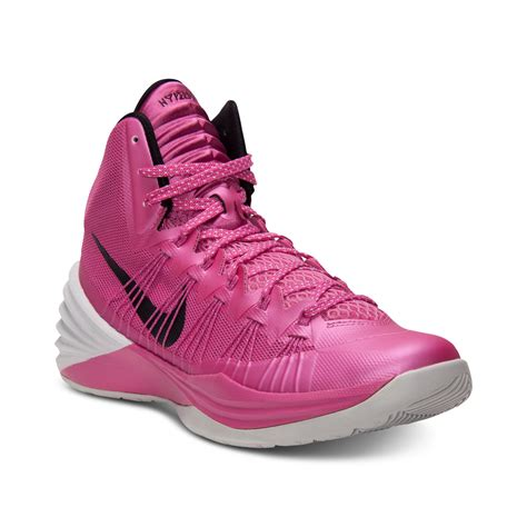 hyperdunk sneakers nike hyperdunk basketball sneakers in pink for pink