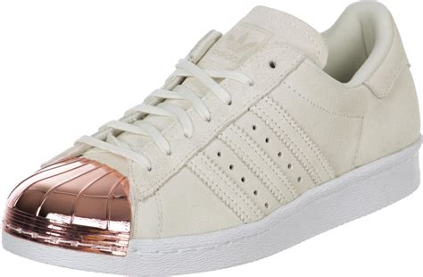 adidas superstar  metal toe  chaussures beige
