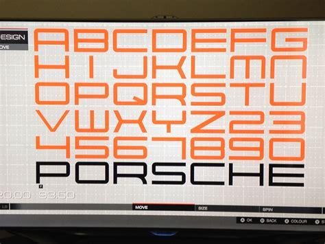 porsche design font download free image gallery motorsports fonts