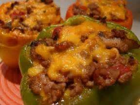 stuff it low carb cheesey stuffed peppers recipe carmen