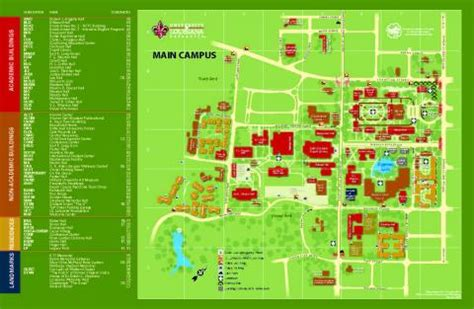 Mba Office Ul Lafayette by Cus Map Office Of Transportation Services