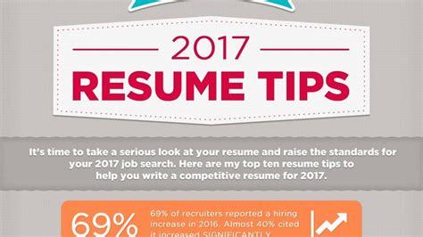Resume Writing Tips 2017