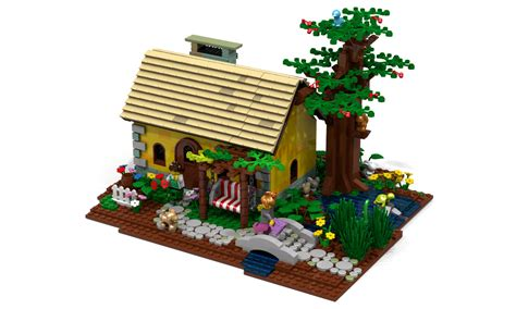 lego cottage lego ideas product ideas country cottage