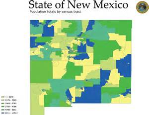 New Mexico Elevation Map by New Mexico Land Ownership And Population