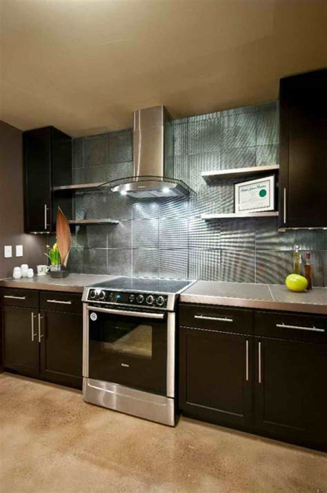2015 Kitchen Ideas With Fascinating Wall Treatment Homyhouse Contemporary Kitchen Design Ideas