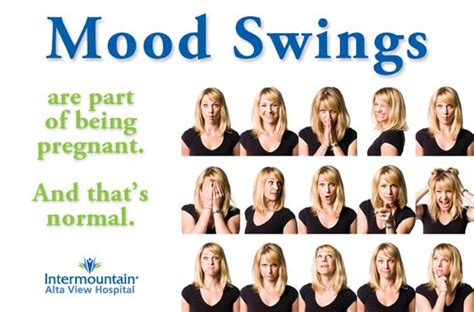 woman mood swings pregnancy and your unexpected return to adolescence