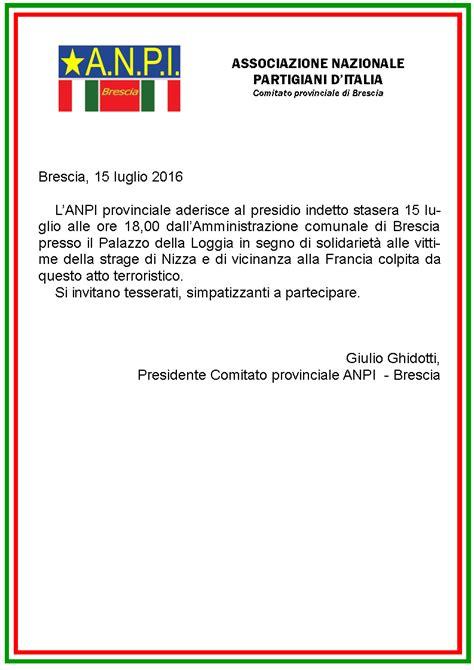 cornice tricolore presidio di solidariet 224 alle vittime della strage di nizza