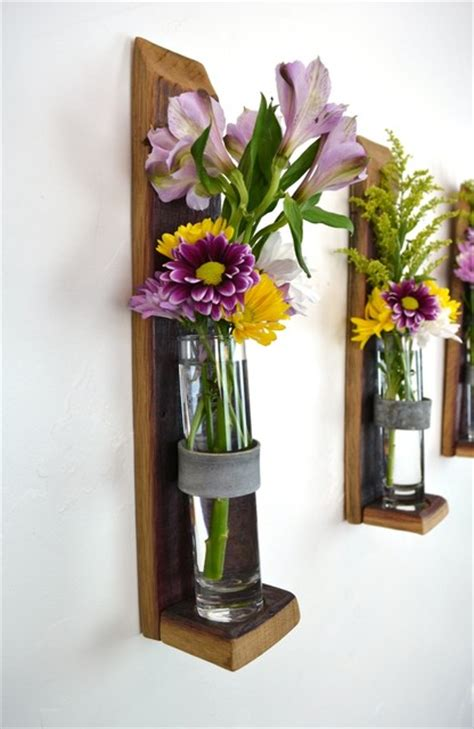 wall hanging flower holders version