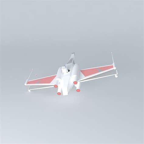X Wing 3d Model Free