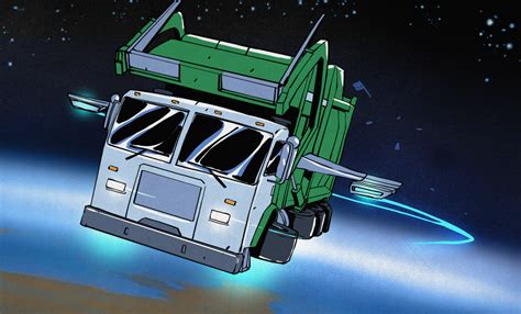 space garbage truck takes out the trash hackaday