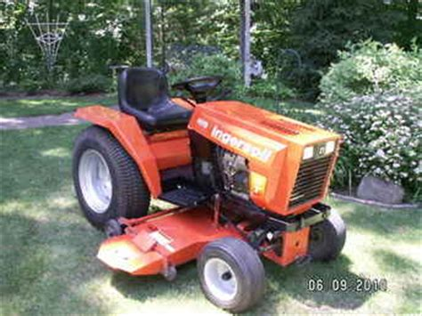 Ingersoll Garden Tractor by Used Farm Tractors For Sale Ingersoll Garden